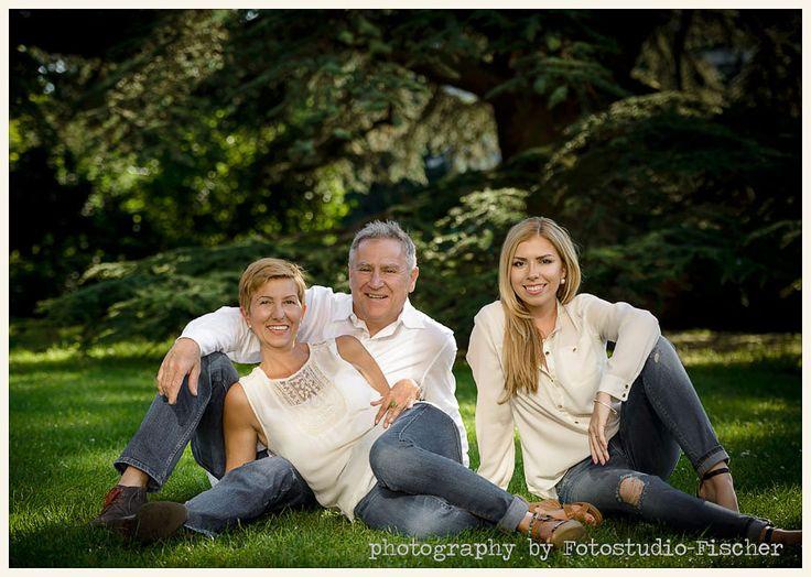 Familienfoto im schlosspark von Weinheim