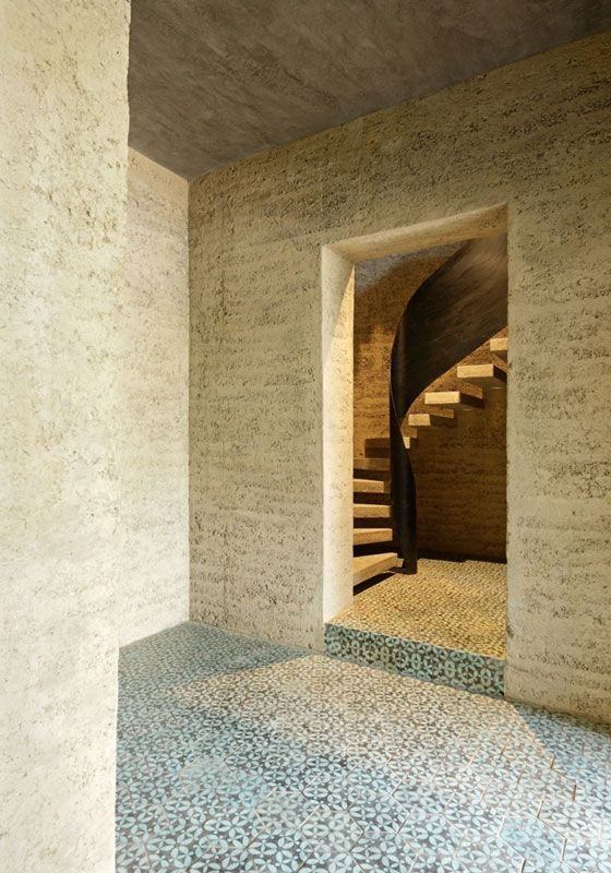 Rammed Earth House, Rauch Family Home
