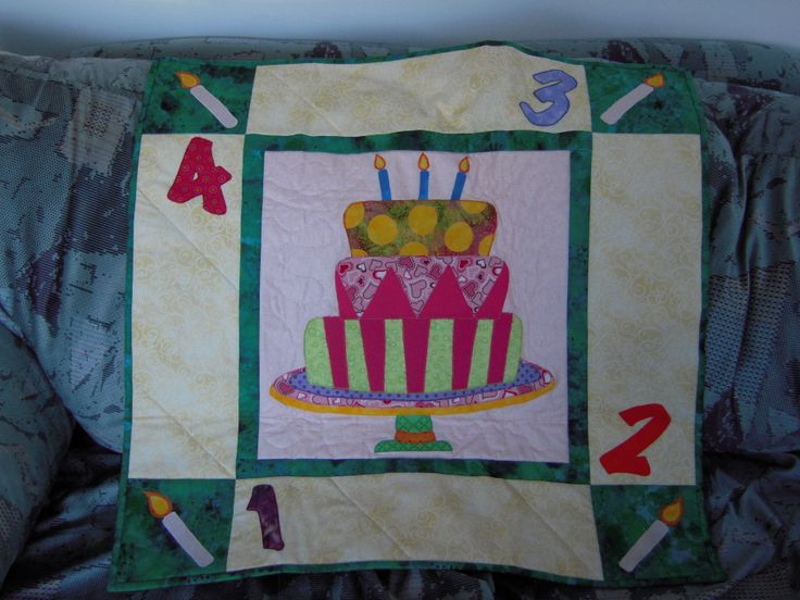a birthday banner for friends and family to sign