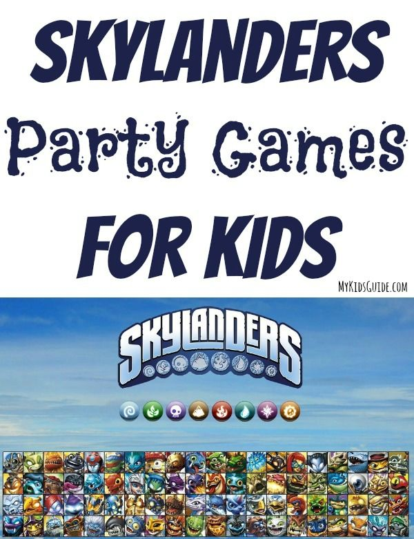 Ready For Great Skylanders Party Games For Kids?: Ready for some great Skylanders party games for kids? Read on! If you've been around kids much over the last few years, you know how popular Skylanders are.  While my own boys have never been into this toy and game, I have seen plenty of my friends searching and struggling to find what their kids want around the holidays.