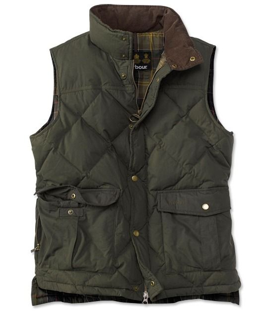 Love Barbour vests, need this one to add to my collection!