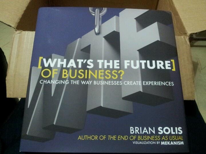 """Directamente desde @Amazon.com: """"What's the future of Business?"""", del gran @Brian Solis > http://ow.ly/i/1WW9g #SocialMedia"""