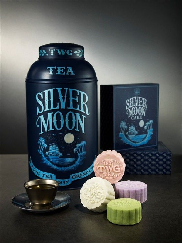 Tea Lightful Twg Tea Candied Mooncakes - one of my favorite tea flavors!!!