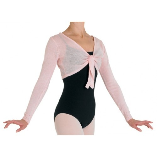 Bloch Jessie Ladies top  Crop tie front top  Fabric: 100% acrylic cashmere like yarn  Colours:Ballet pink , Light Blue, Burgundy, Black  Price: 21.10€