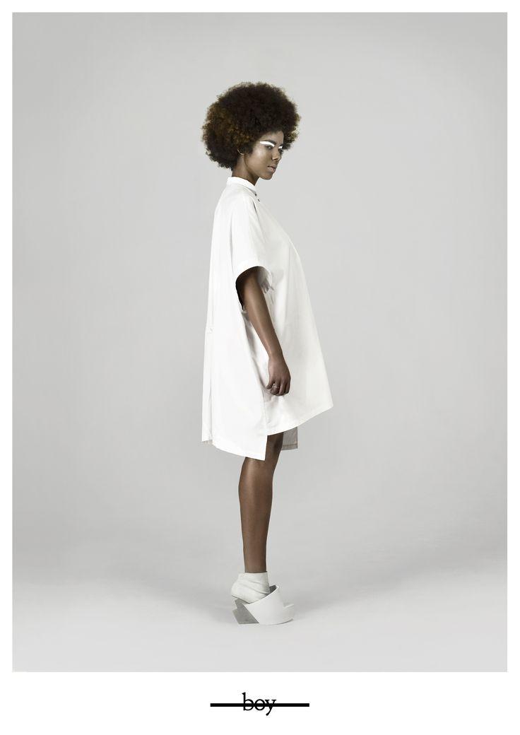boy. Womenswear capsule collection. Iga Węglińska - conceptual fashion designer www.igaweglinska.com photo: Marzena Kolarz