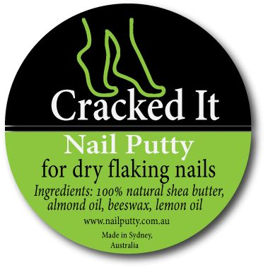 Nail Putty House - Natural Balm to fix cracked and dry nails