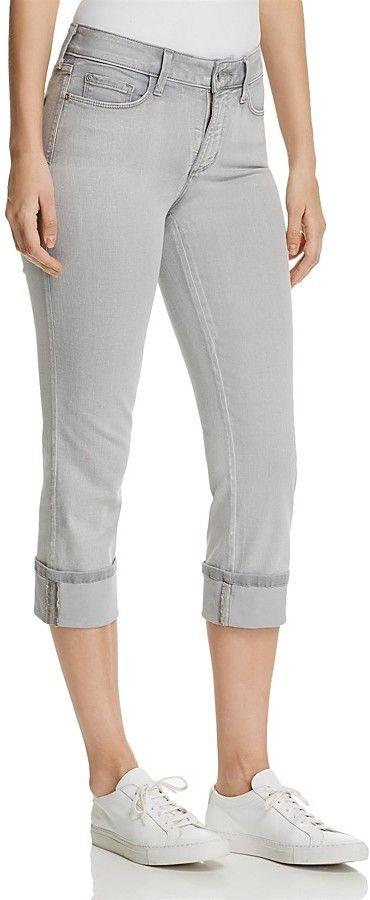 NYDJ Dayla Cuffed Capri Jeans in Reims