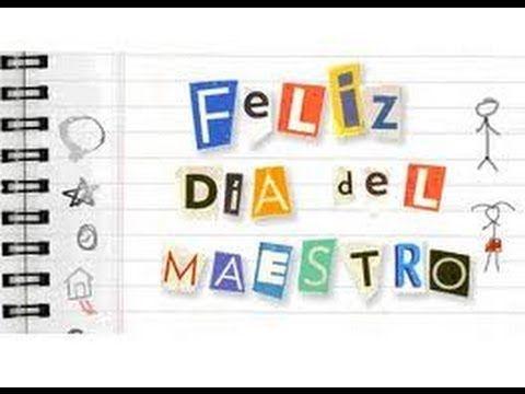 5 de octubre: Dia mundial del docente. Feliz día!!!! - YouTube