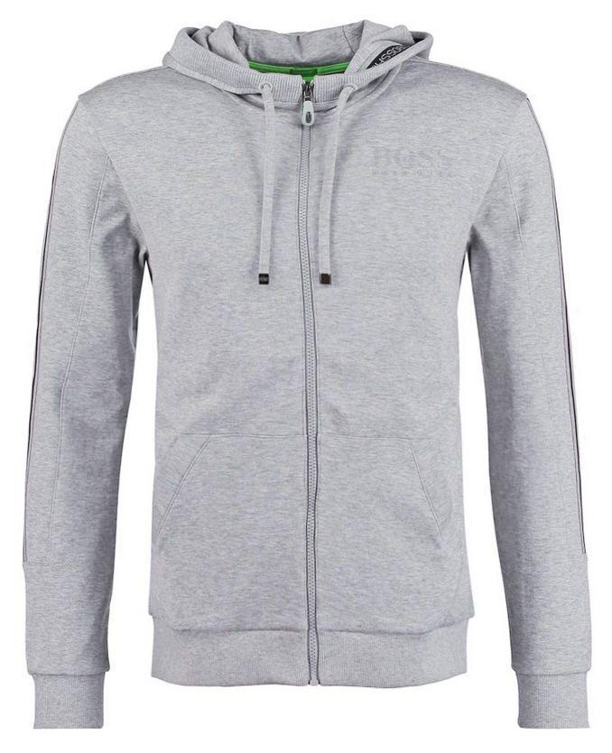 BOSS Green SAGGY Sweat zippé light/pastel grey prix promo Sweat zippé homme Zalando 150.00 €