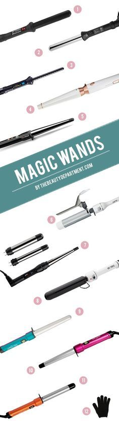 best curling wands for different hair types!