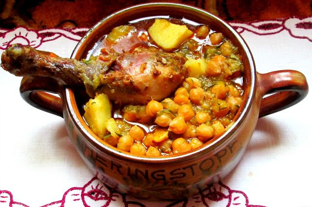 potrawka warzywna z kurczakiem