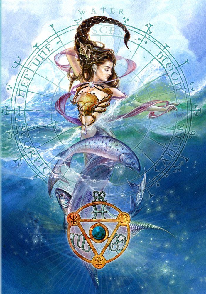 Zodiac art pisces