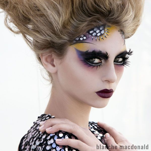 Blanche Macdonald Makeup graduate and instructor, Tim Hung, created this stunning makeup design for the IMATS. http://www.blanchemacdonald.com/makeup/gallery/