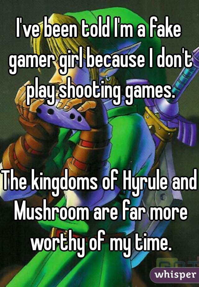 This is so true. This is how I grew up in games. Who needs crazy other games anyways