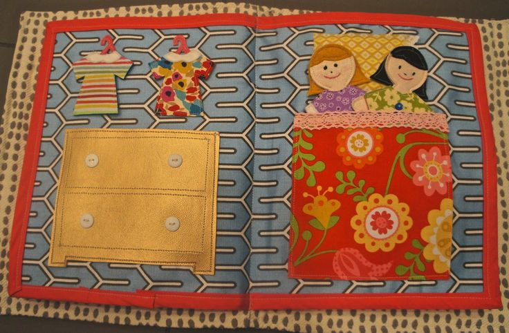 Just finished making my 5th quiet book.  I think this one is my favorite.  Similar found on m...