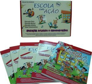 Coleção Escola em Ação Educação Artística e Comemorações - ISBN