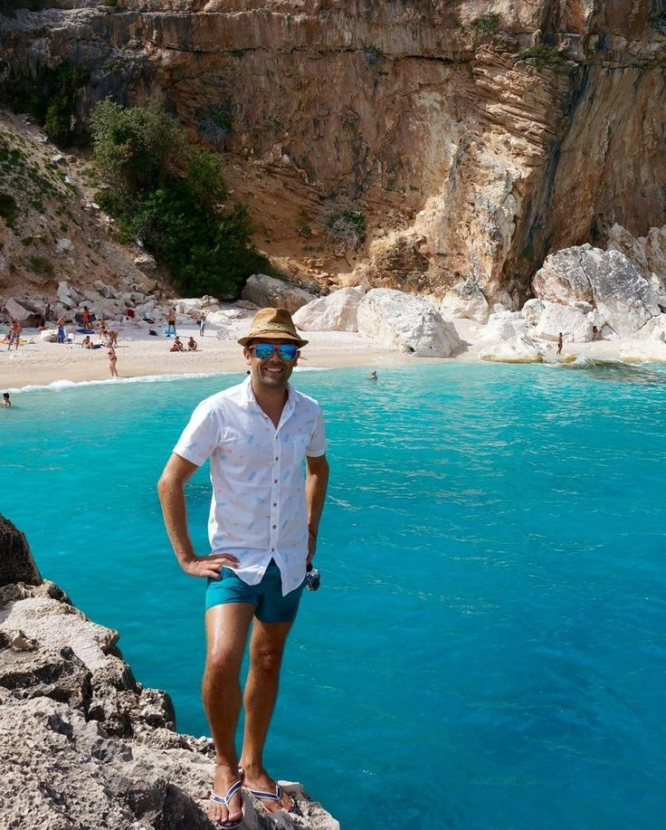 Ahhh Sardinia. One of our favourite spots in Italy. We drove around the island for a week explored just about everywhere and took a boat to visit Cala Mariolu  The water was spectacular and an absolute must when you visit Sardinia!!