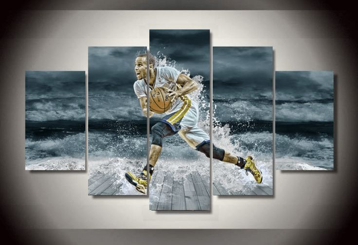 At Octo Treasures we specialize in high quality large multi panel wall canvas, purchase this amazing Stephen Curryk wall canvas today we will ship the canvas for free. This is the perfect center piece for your home. It is easy to assemble and hang the panels together which makes this a great gift for any Stephen Curry fans. The multi panel canvas is unique and creative, you and your guests will be amazed every time you enter the room. We offer professional packaging for every painting you…