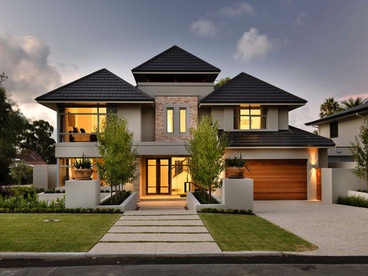 Amazing 21 House Facade Ideas | House | Pinterest | Facade House, Double Storey  House And House