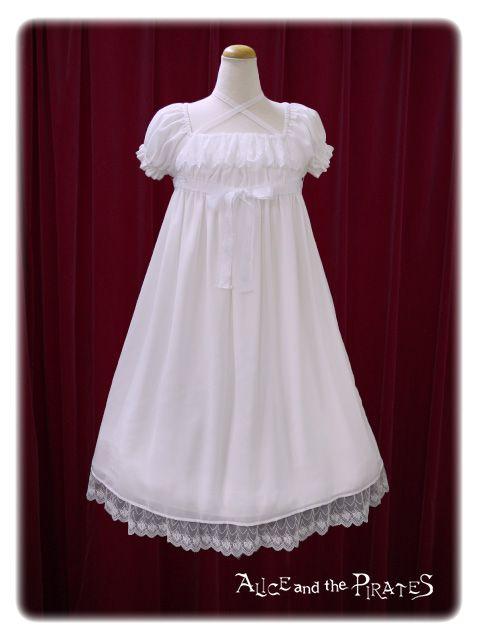 Lolita Kleid Weiß Rüschen Spitze Schleife Kragen