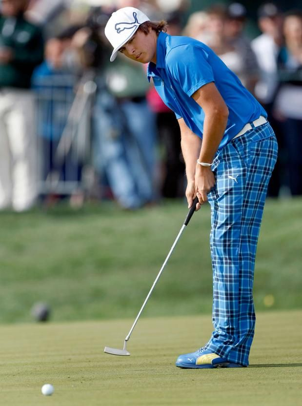 Dress as smart as Rickie Fowler  #McCarthyAudiGolfCompetition