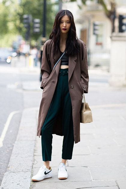 Best London Fashion Week Street Style Spring 2015 | Teen Vogue