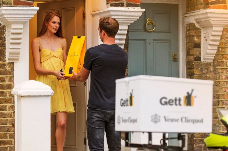 Gett taxi app promises chilled champagne deliveries in 10 minutes