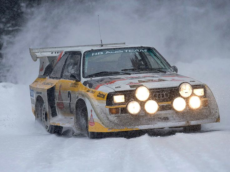 Audi Quattro Rally Car - TurboSoul.com