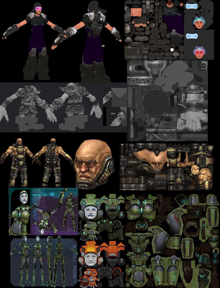 UV character Mapping - Google Search