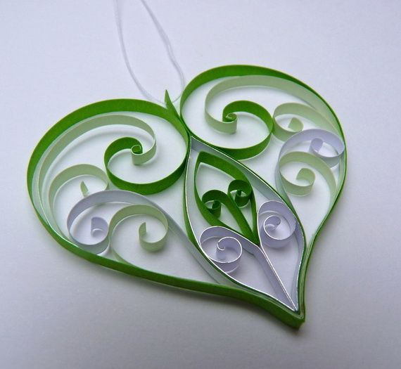 Quilled Valentine's Day Craft Projects and Ideas.
