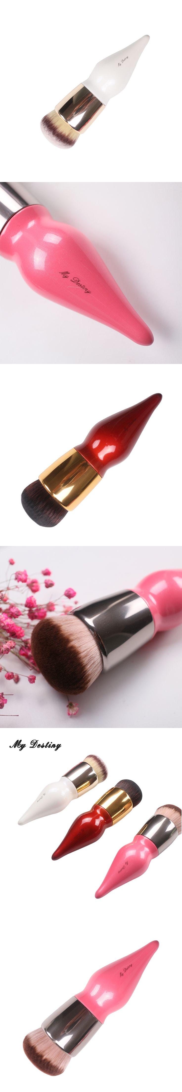 MY DESTINY Foundation Brush Gourd-shaped Kabuki Make Up Makeup Brushes Base Pincel Maquiagem Brochas Maquillaje Make Up Kwasten