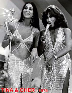 Cher & Tina Turner - can't even handle this picture. 2 of my faves.