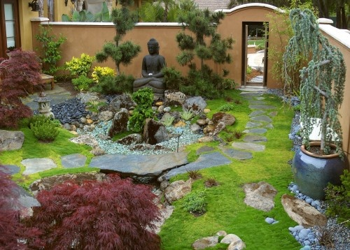 14 best Mid Century Modern Asian Garden Ideas images on