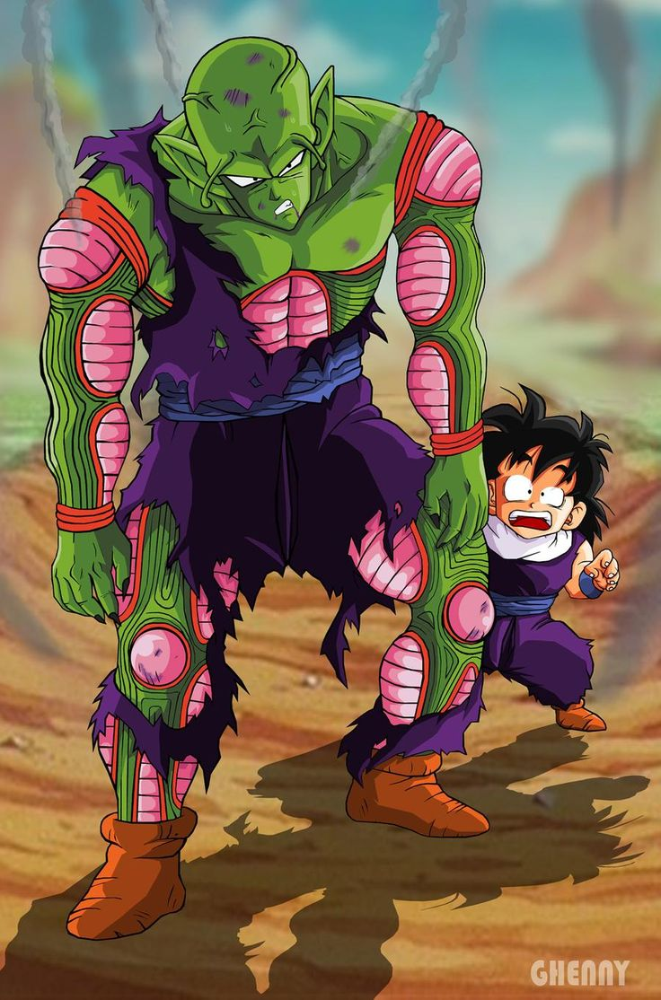 Piccolo's Sacrifice by ghenny on DeviantArt