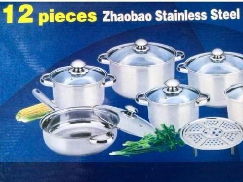 COOKWARE QUALITY SET utensils casseroles inox stainless steel - 12pcs cookware http://www.bettermekitchen.com