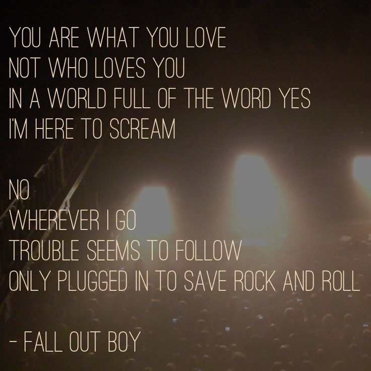 94 best Fall Out Boy images on Pinterest | Bands, La la la ...