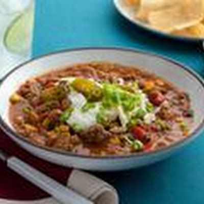 Paula Deen's Taco Soup Recipe - Key Ingredient