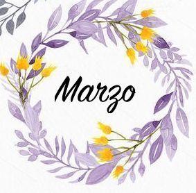 Marzo, hueles a primavera. Y a que yo hago como que nos encontramos de casualidad cuando llevo horas esperándote #Defreds #frases #corona #flores #flowers #diseño #lettering #label #marzo #march #yellow #amarillo #morado #purple