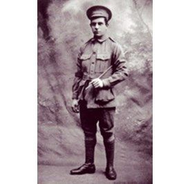 Walter Lance Franklin,Courtesy of Loraine Padgham available from the Australian War Memorial.