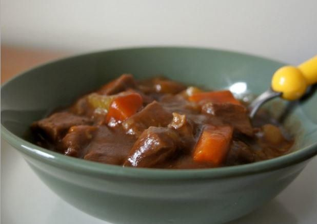 Slow Cooker No Peek Beef Stew | The beef will melt in your mouth!