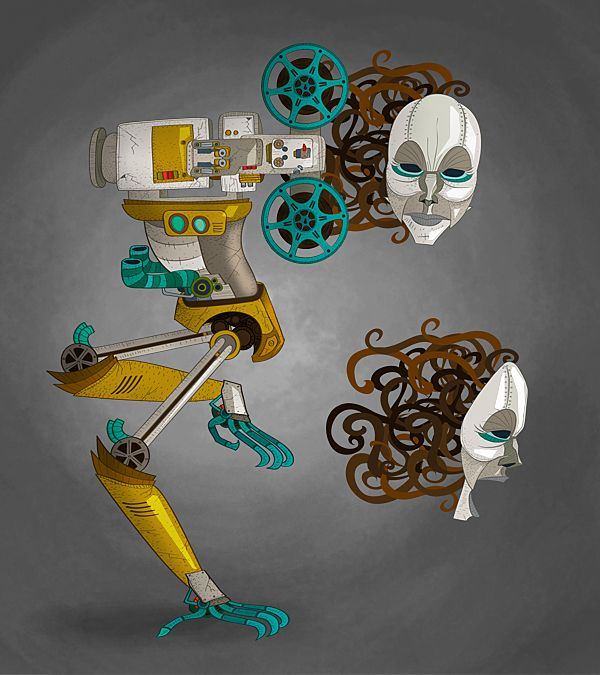 Tráiler - El Último Proyector by Karlos Velásquez, via Behance