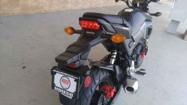 New 2017 Honda Grom Motorcycles For Sale in California,CA. 2017 Honda Grom, 2017 Honda® Grom® Check Out The New Grom! If you and about three-quarters of the planet thought the Honda Grom was cool before, check out the new 2017 version! The first thing you ll notice is the new, aggressive bodywork and rad new colors. Then pay some attention to the new headlight its LED design not only looks fresh, but it works great too. There s a new two-tier seat, a more defined tail section, and a new…