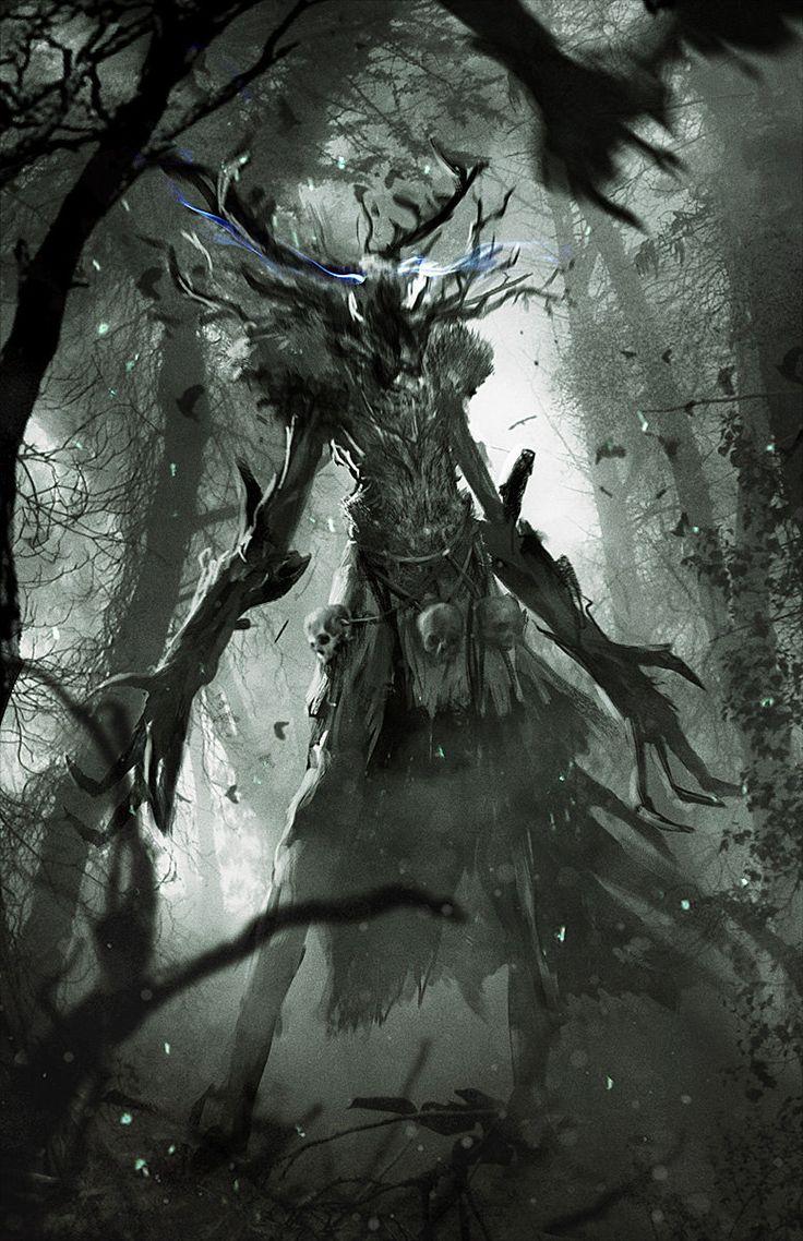 The Witcher 3: Ancient Leshen, Marek Madej on ArtStation at http://www.artstation.com/artwork/the-witcher-3-ancient-leshen