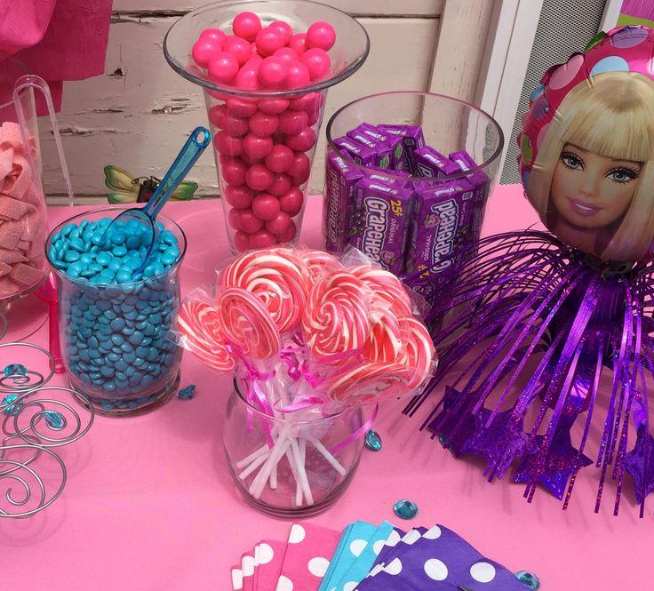 Barbie Zebra Theme 1st And 5th Birthday: Barbie Van, Barbie Camper Van