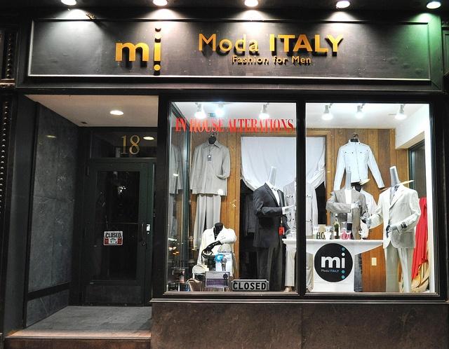 Moda Italy mens clothing store Madison WI by modaitalyfashion on