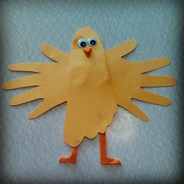 Kyckling av fot och händer