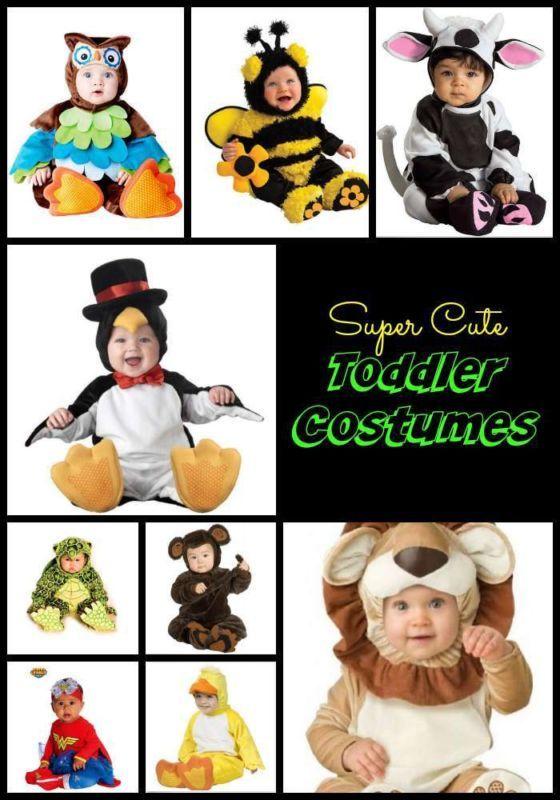 Super Cute Toddler Costume Ideas!