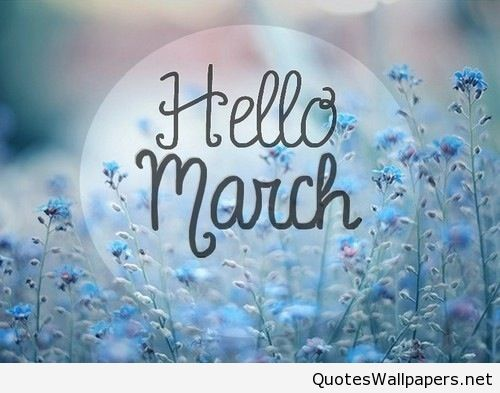 Awesome 2016 Hello March