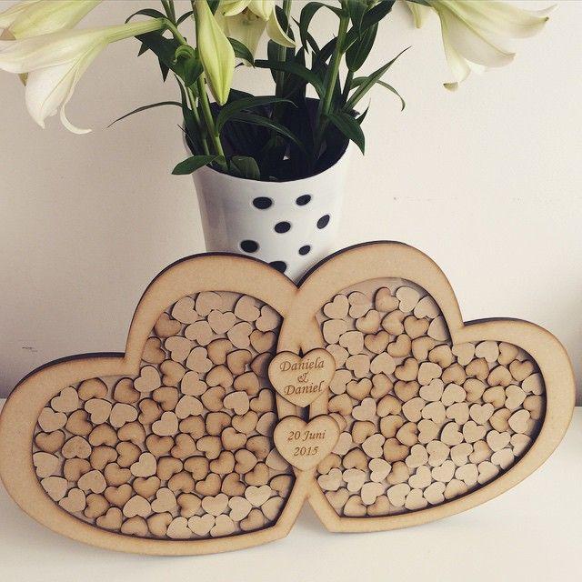 #guestbook #dropbox #wood #weddingday #personalised #photooftheday #etsyuk #etsy #etsyusa #rusticwedding #weddinggift