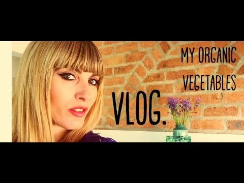 VLOG: My Organic Vegetables   MICHELA ismyname ❤️